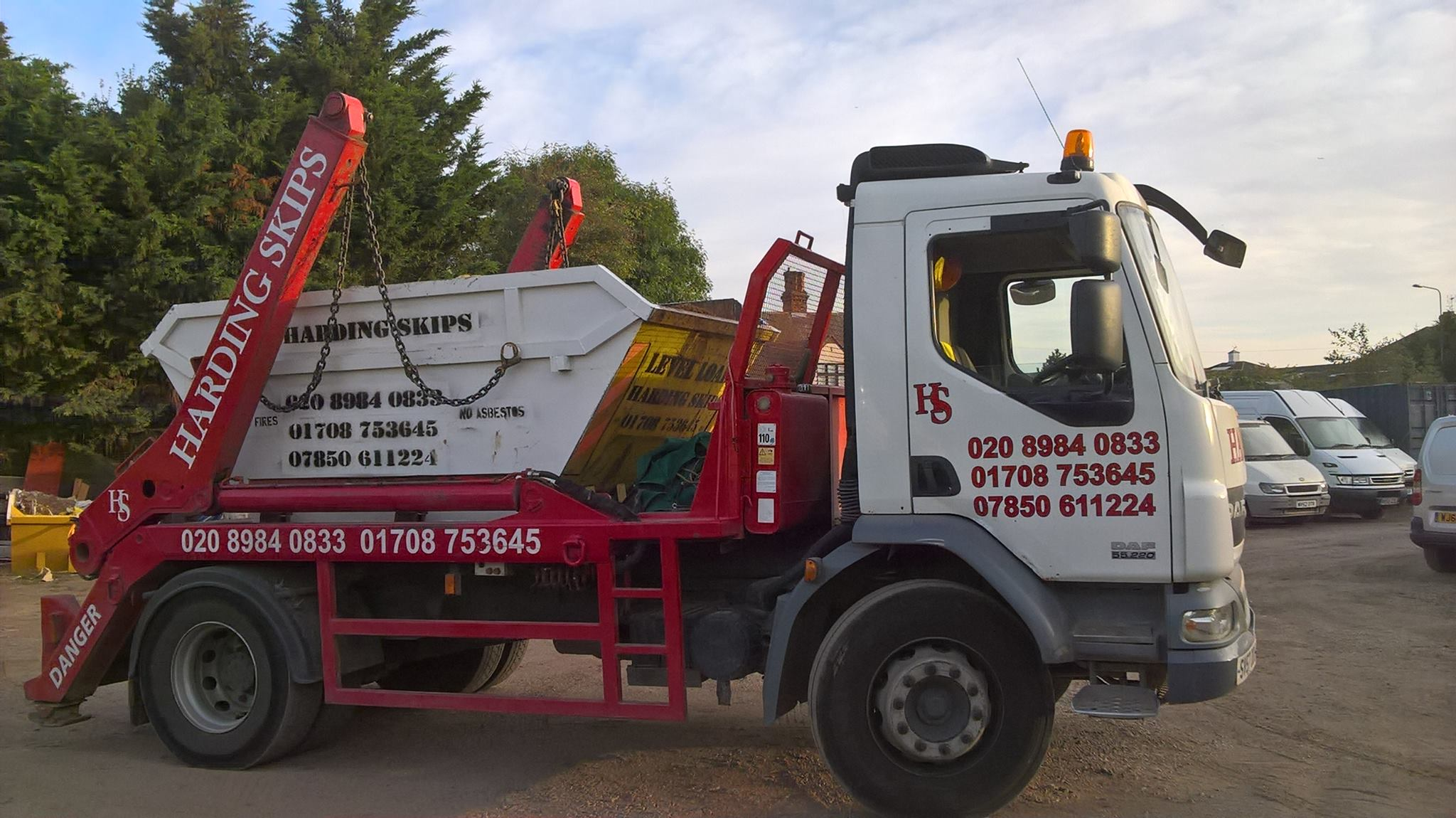 SKIP HIRE IN HORNCHURCH AND ESSEX